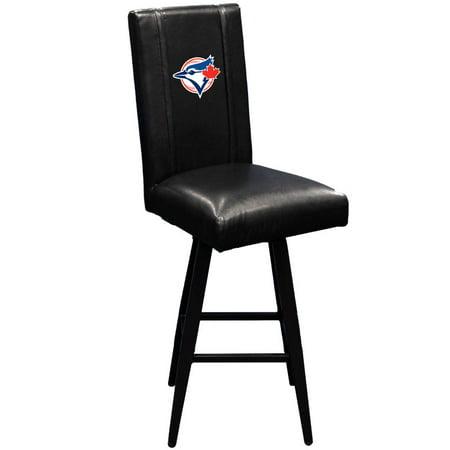 Toronto Blue Jays MLB Bar Stool Swivel 2000 with Secondary Logo Panel ()