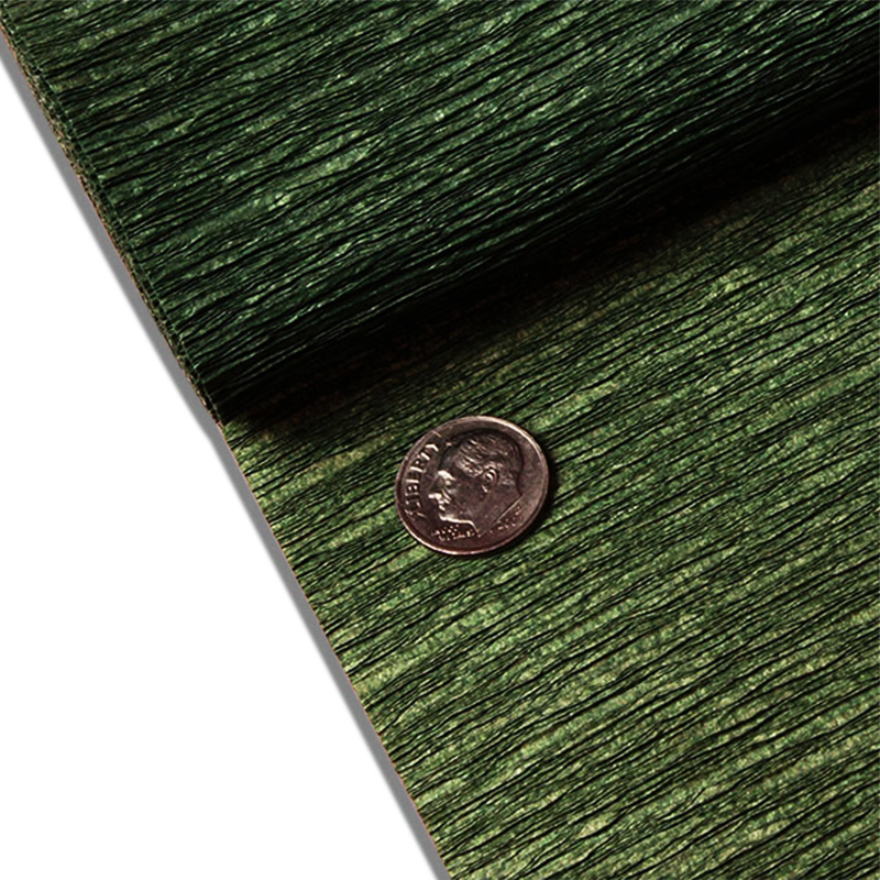 "Forest Green Crepe Paper 19"" X 3yd by Paper Mart"