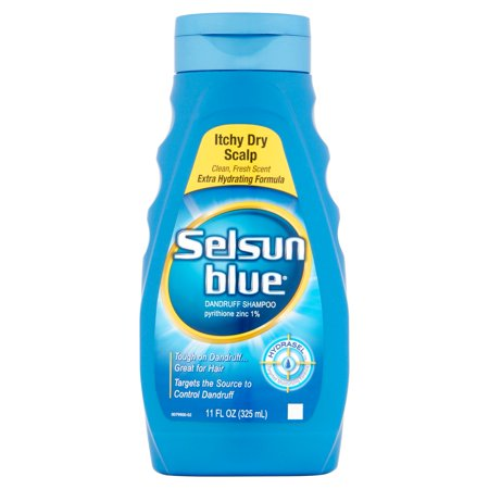 Selsun Blue Itchy Scalp sec Shampooing, 11 oz