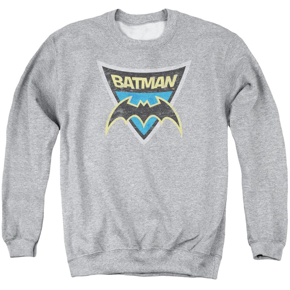 Batman DC Comics Batman Shield Vintage Style Adult Crewneck Sweatshirt