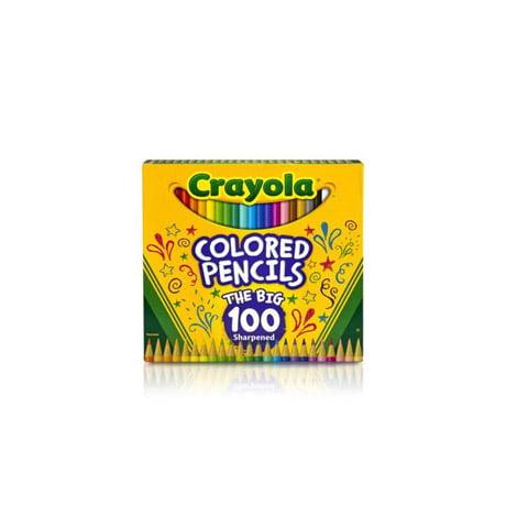 Crayola Colored Pencil Set –- 100 Pencils