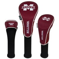 Mississippi State Bulldogs Driver Fairway Hybrid Set of Three Headcovers - No Size