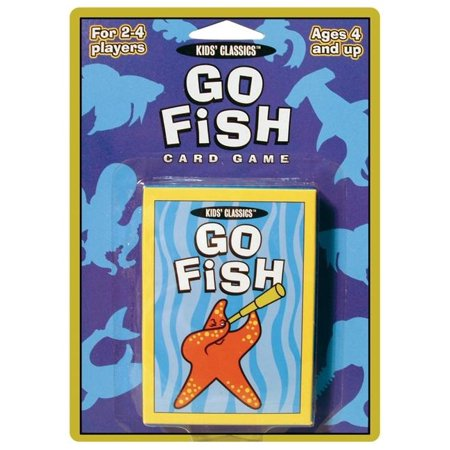 Kids Classics Card Games: Go Fish Card Game (Deer In The Headlights Card Game Rules)