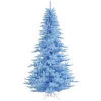 product image vickerman pre lit 75 sky blue fir artificial christmas tree blue lights