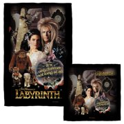 Labyrinth Only Forever Face Hand Towel Combo White