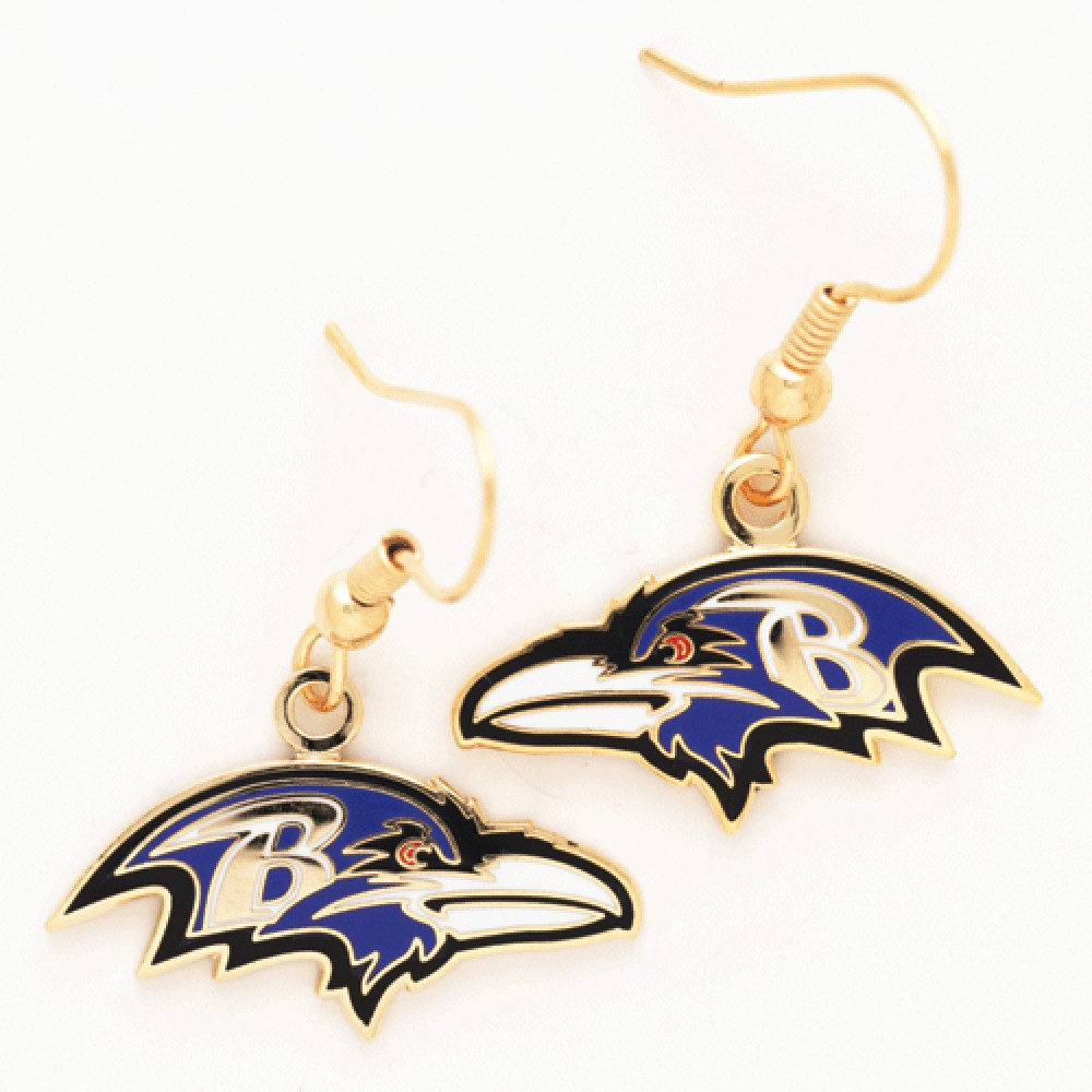 Baltimore Ravens Official NFL 1 inch  Earrings by Wincraft