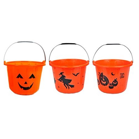 Halloween Trick-or-Treat Candy Pail Buckets 7
