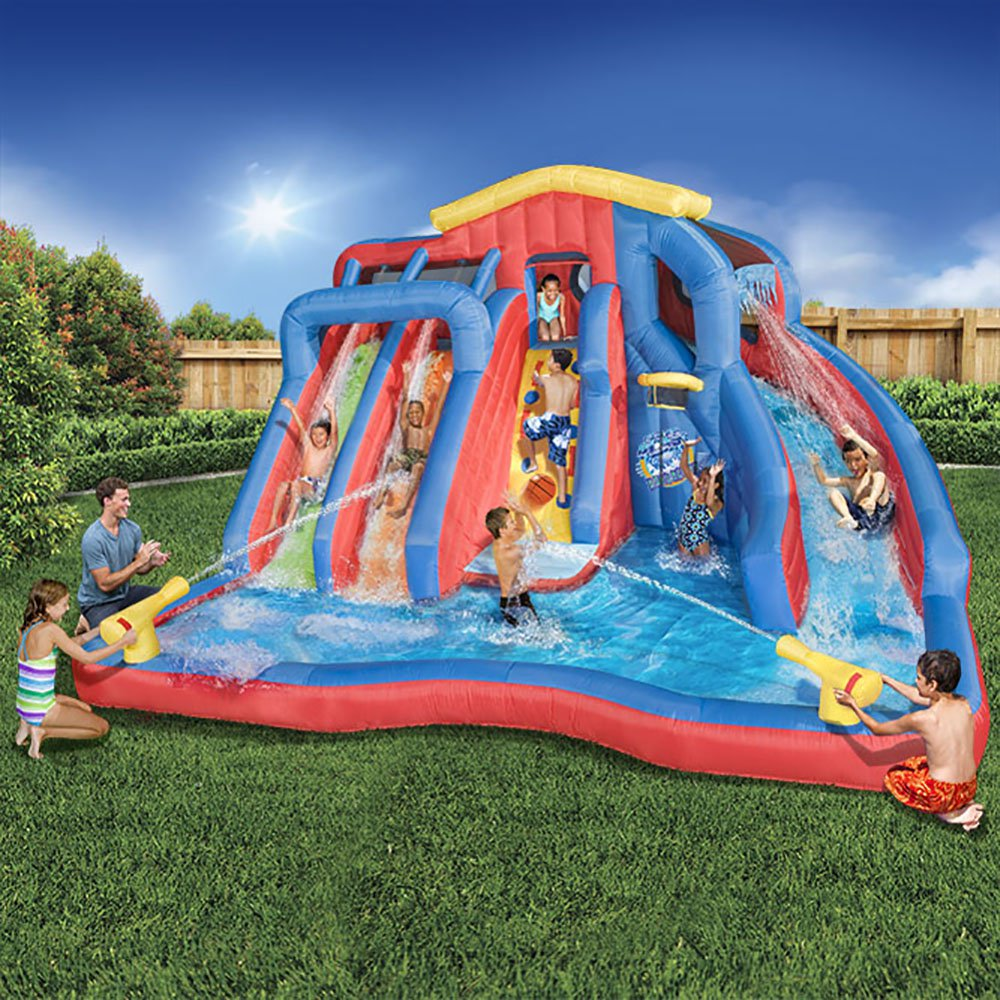 Hydro Blast Inflatable Water Park made with Dura-Tech by ...
