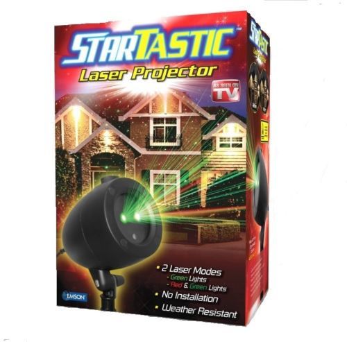Startastic Holiday Light Show Laser Light Projector As Seen on TV! - Static