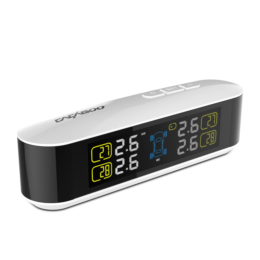 CACAGOO Wireless Real-time Tire Pressure Monitoring Syste...