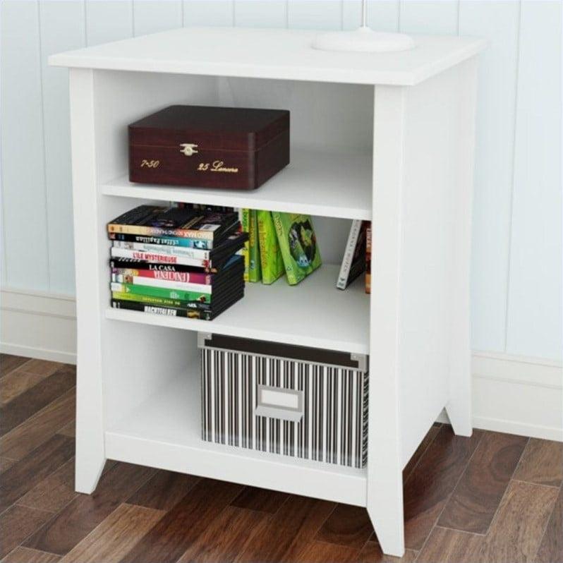 Nexera Vice Versa Stereo Cabinet in White - Walmart.com