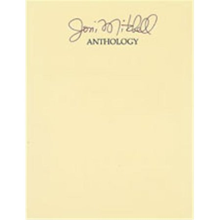 Alfred 00-VF1052 Joni Mitchell- Anthology - Music Book - image 1 of 1