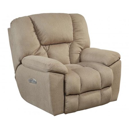 Catnapper Owens 764761-7 Power Full Lay Out Recliner Chair with Power Headrest and Lumbar Support - (Best Recliner With Lumbar Support)