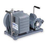 WELCH 1376B-46 Vacuum Pump,1 HP,10.6 cfm,115/230V
