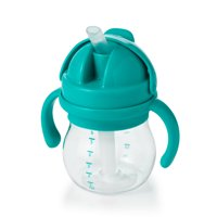 OXO Tot Transitions Straw Cup With Handles, 6 Oz, Teal