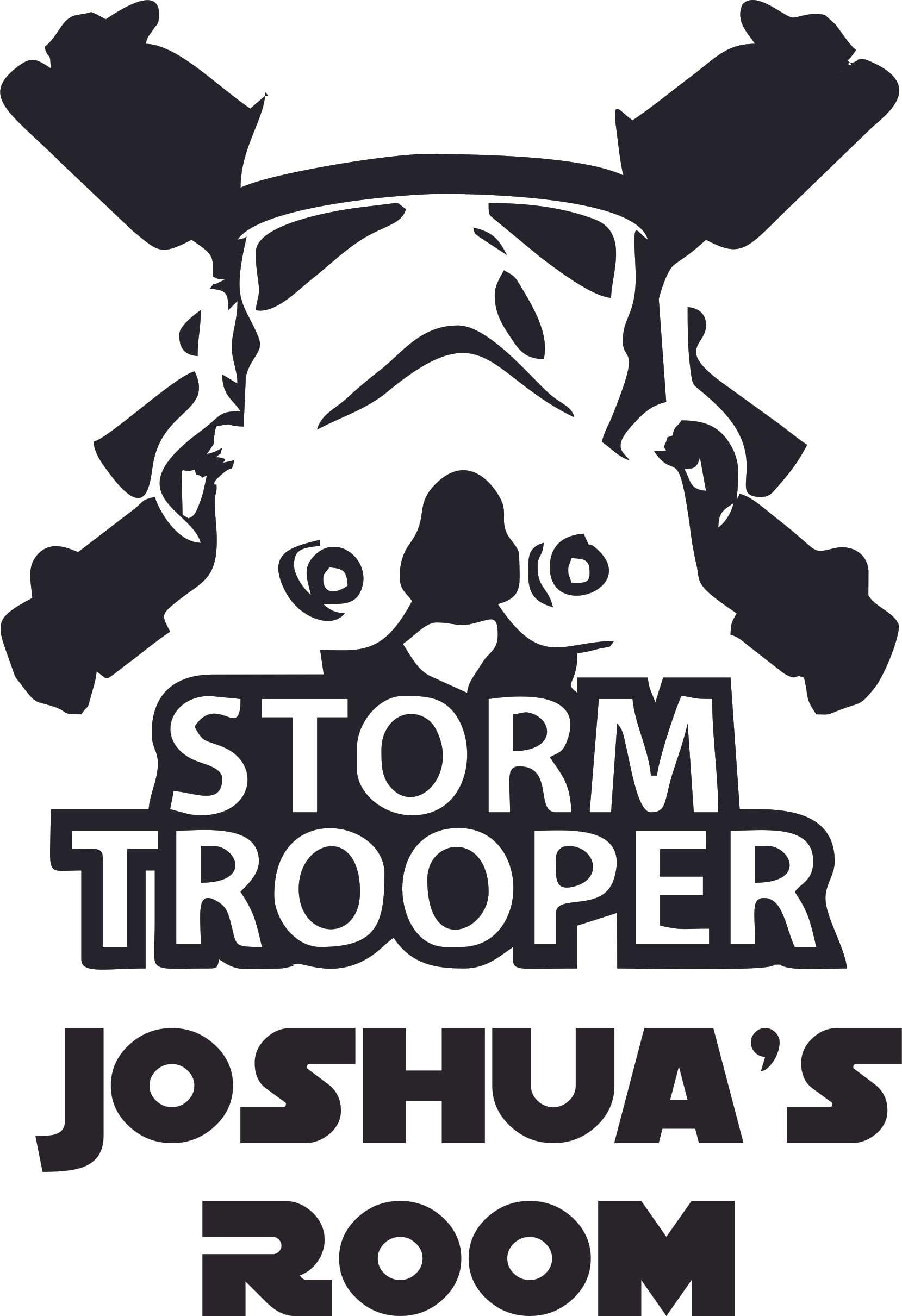 Bedroom 10x10 Size: Storm Trooper Star Wars Cartoon Character Design