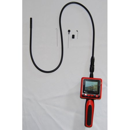 2.5' Color Lcd Monitor - Vividia 9mm Portable Digital Flexible Inspection Camera with 2.4