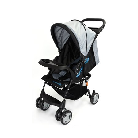 Wonder Buggy Roadmate Multi Position Compact Stroller With Canopy,Basket & Toy Tray - (Best 1 8 Buggy)