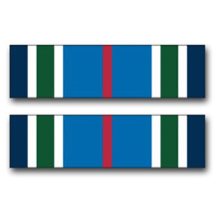 3.8 Inch Army Joint Service Achievement Medal Ribbon Vinyl Transfer Decal