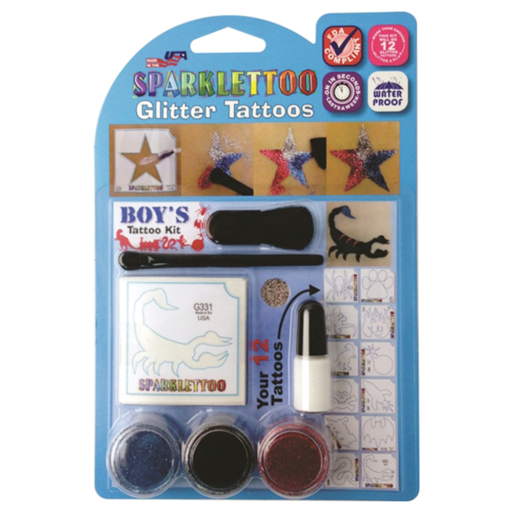 Ruby Red Sparklettoo Kit (Boy's)