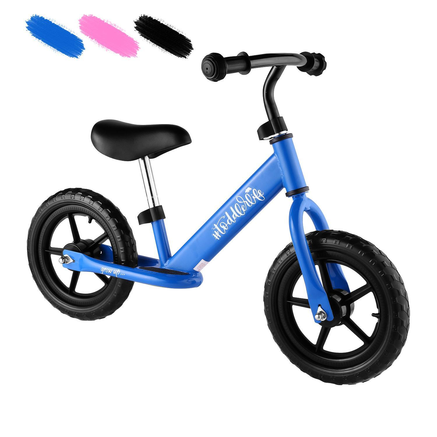 Baby Balance Bike for Kids Age 3-6 Y/Adjustable Seat and Handle Height-More Suit for Growing Children HFON