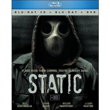 Static  3D Blu Ray   Blu Ray   Dvd