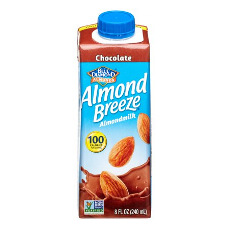 Image of Almond Breeze Almond Milk, Chocolate, 8 Oz (Innerpack of 4)