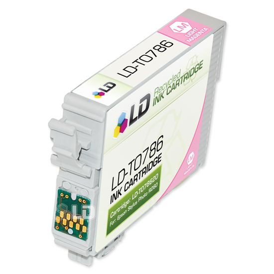 LD Remanufactured Light Magenta Ink for Epson 78 (T078620)