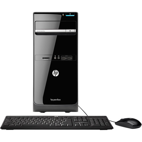HP Black Pavilion p6-2143w Desktop PC with AMD Quad-Core A6-3650 Accelerated Processor, 8GB Memory, 1TB Hard Drive and Windows 7 Home Premium (Monitor Not Included)