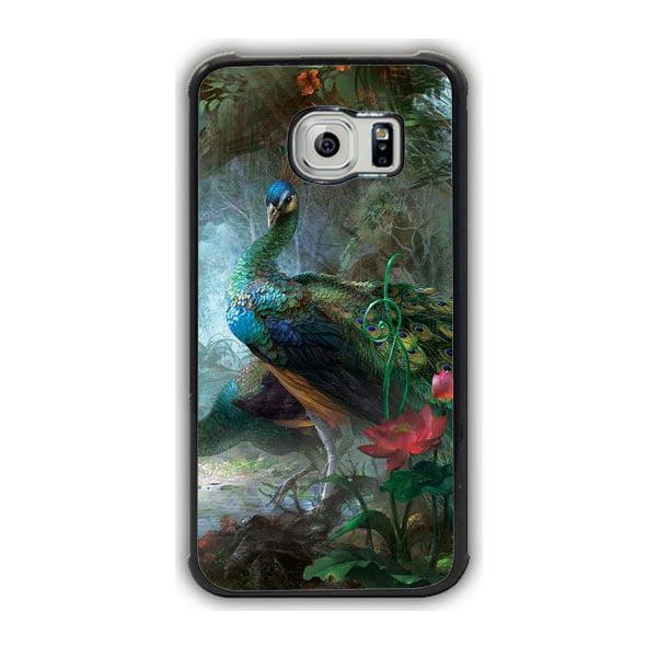 Peacocks Galaxy S7 Edge Case