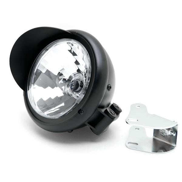 Motorcycle Custom Black Headlight Head Light For Suzuki Intruder Volusia VS 700 750 800 1400 1500 - image 5 de 6