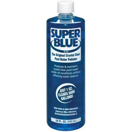 Robarb Super Blue Swimming Pool Clarifier, 1-Quart