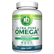 Purgo Health Ultra Pure Omega-3 Premium Fish Oil - 60 count