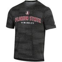 Men's Russell Athletic Black Florida State Seminoles Synthetic T-Shirt