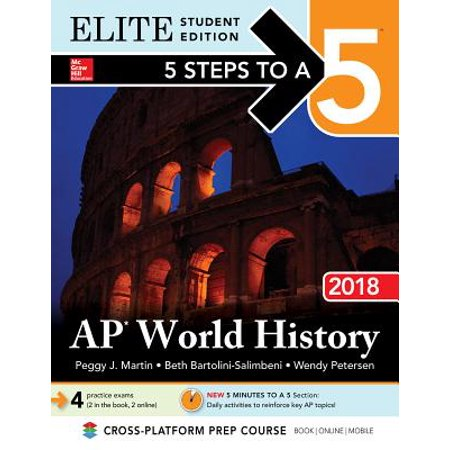 5 Steps to a 5: AP World History 2018, Elite Student - Halloween History For Students