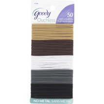 Hair Accessories: Goody Ouchless Braided Thin Elastics