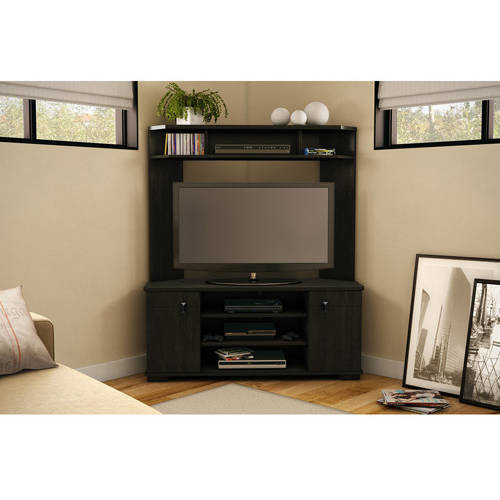 "South Shore Vertex Corner TV Unit for TVs up to 42"", Multiple Finishes"