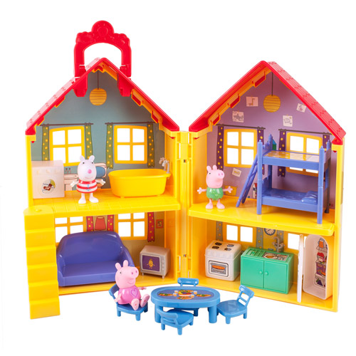 Peppa Pig Peppa's Deluxe House Play Set with 3 Figures
