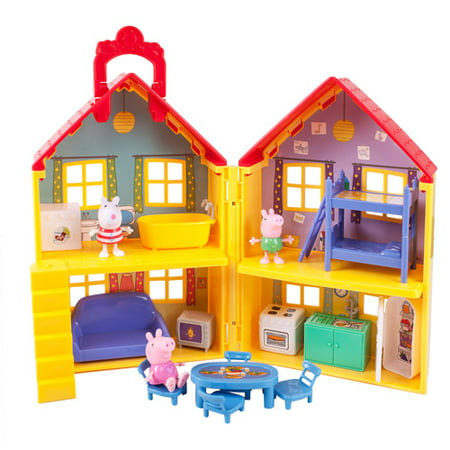 Peppa Pig Peppa's Deluxe House Play Set (Nick Jr Games Peppa Pig)
