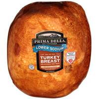 Prima Della Low Sodium Turkey Breast, Deli Sliced