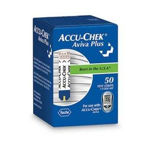 Accu-Chek Aviva Plus Blood Glucose Test Strips - 50 Test Strips per (Accu Chek Aviva Plus Nfr Test Strips)