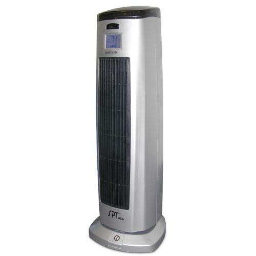 Sunpentown Electric Ceramic Heater with Ionizer w/Remote Control, SH-1508
