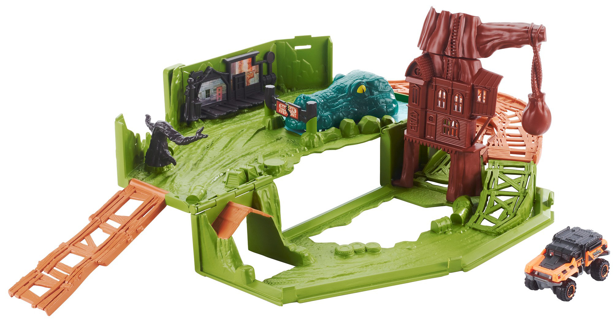 Matchbox Swamp Chomper Play Set by Mattel