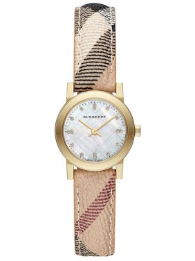 Burberry Women's Diamond Mother of Pearl 26mm Watches