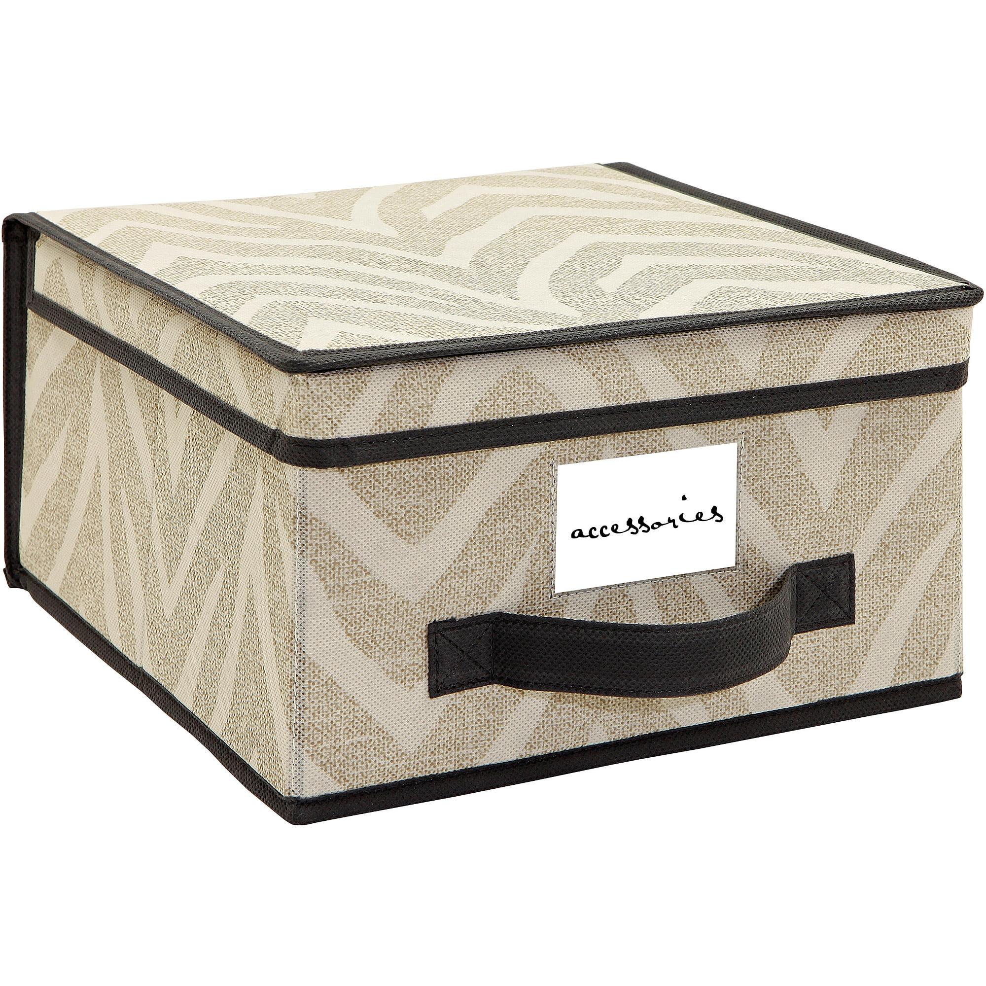 HouseCandie Natural Zebra Storage Box