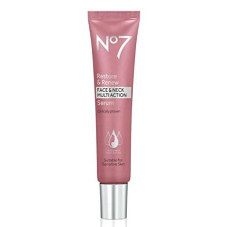 No7 Restore & Renew Face & Neck MULTI ACTION Serum 30ml by BOOTS ()