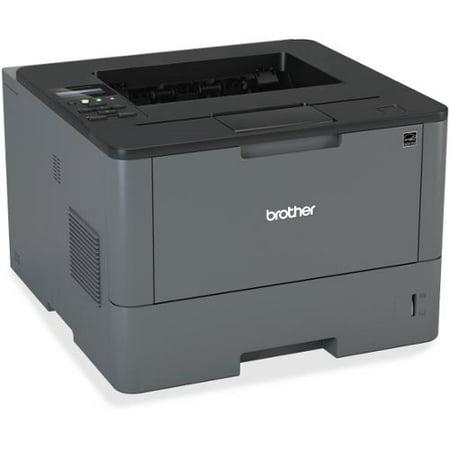 Brother HL-L5100DN Laser Printer - Monochrome - 1200 x 1200 dpi Print - Plain Paper Print - Desktop - 42 ppm Mono Print