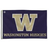Washington Huskies NCAA 3x5 Flag