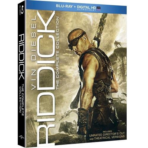 Riddick: The Complete Collection - Pitch Black / The Chronicles Of Riddick / The Chronicles Of Riddick: Dark Fury / Riddick (Unrated) (Blu-ray) (With INSTAWATCH)