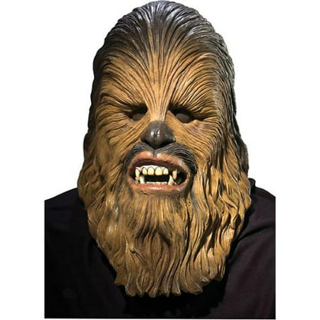 Star Wars Episode 3-Chewbacca Full Mask Halloween Costume Accessory - Friends Halloween Party Episode Full